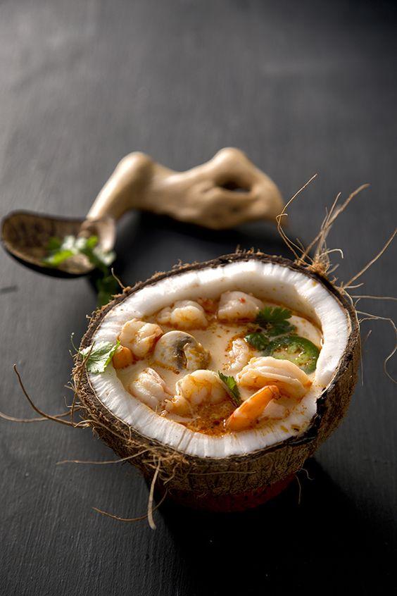 soupe crevettes coco gingembre