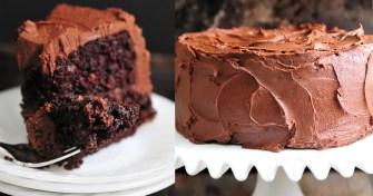 Un gâteau au chocolat spécial grand gourmand