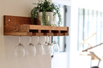 DIY : Un porte-verres façon bistrot