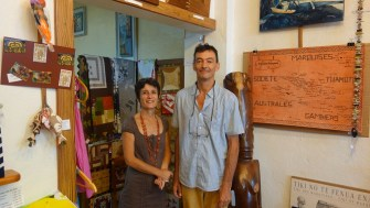 Une galerie atypique, ouverte sur le triangle polynésien : Anuanua, la galerie d'art de Raiatea
