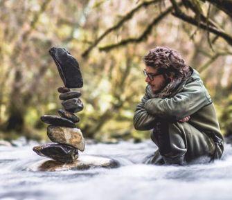Le stone balancing : Les oeuvres de Manu Topic