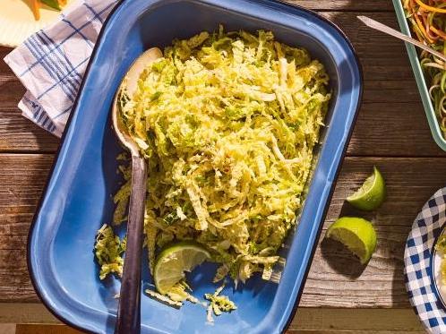 Salade de chou au gingembre et au sésame