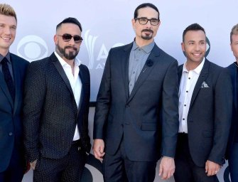 Backstreet Boys : Le boys band star des années 90 a fait son come back