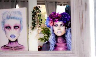 Audrey Bodilis présente Purple Lady, une rencontre féérique unique !
