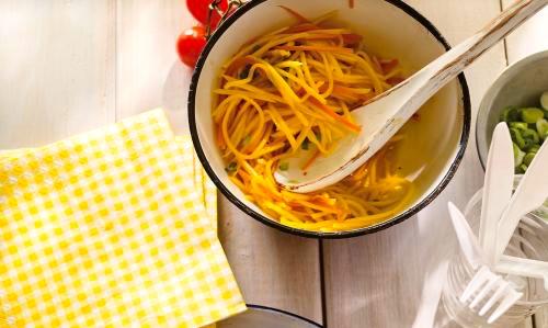 Salade à la mangue verte