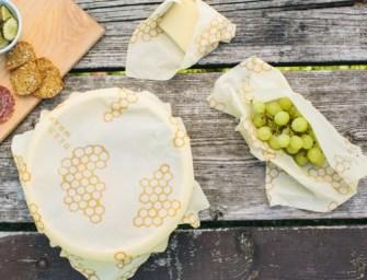 Bee's Wrap, les emballages réutilisables en cire d'abeilles