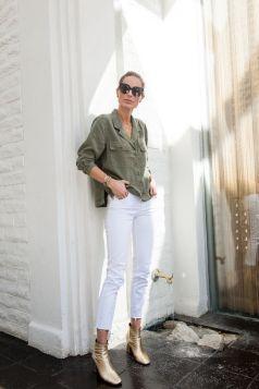 Comment bien porter le jean blanc 11