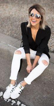 Comment bien porter le jean blanc 13
