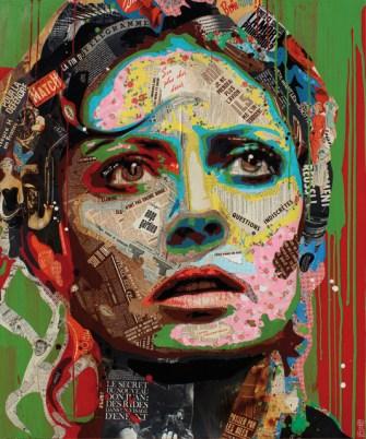 Arnaud Bauville, peintre Dada et cubiste