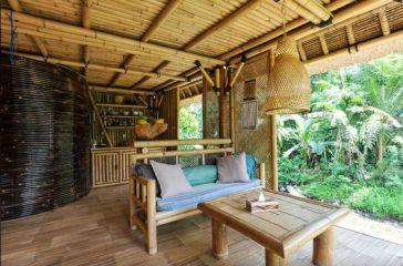 bamboo house hideaway bohemianblog interior