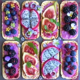 Foodbites, un compte coloré culinaire d'Instagram