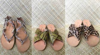 Des sandales en cuir aussi belles que confortables, disponibles sur Tahiti !