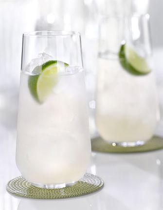 Le cocktail tonic, rhum, citron