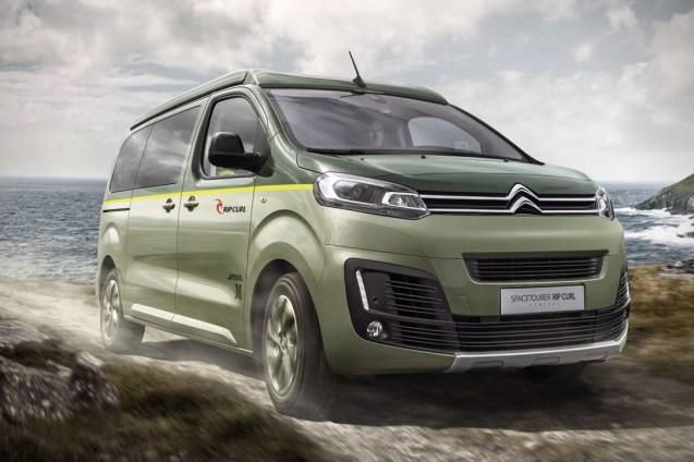 Citroën créé le SpaceTourer Rip Curl, un van dédié au road trip 01