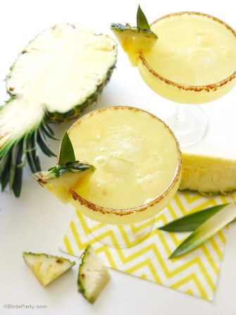 La sangria à l'ananas et au rhum