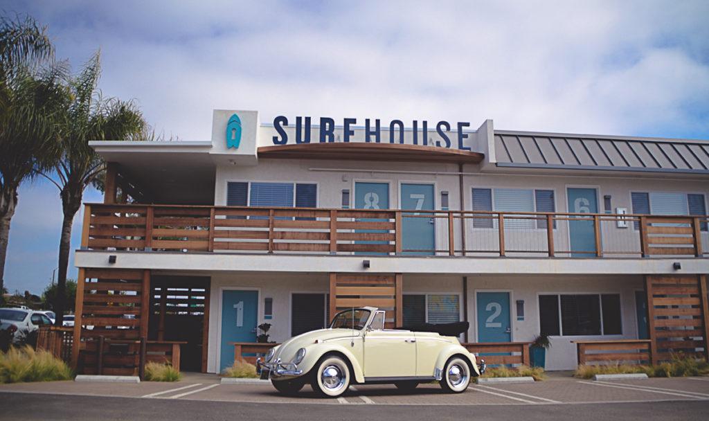 Surhouse – Un motel entièrement dédié à la culture surf