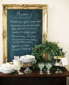 Une table raffinée au décor rustique chic pour Noël 18