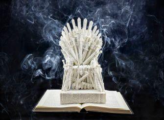 L'artiste Jamie Hannigan réalise des sculptures en papier de la série Game of Thrones