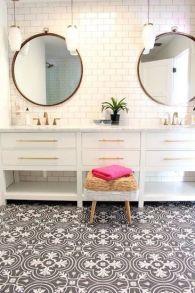 Mosaique Noir et blanc - salle de bain (1)