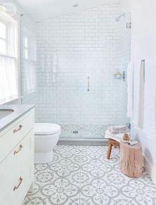 Mosaique Noir et blanc - salle de bain (2)