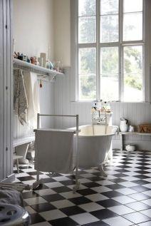 Mosaique Noir et blanc - salle de bain (8)
