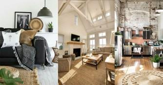 Déco : Le tapis en jute pour un intérieur chaleureux