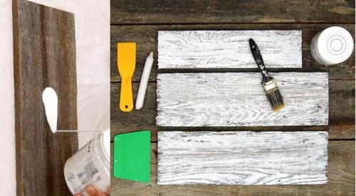 Diy 3 techniques tr s simples pour blanchir le bois moving tahiti - Blanchir du bois ...