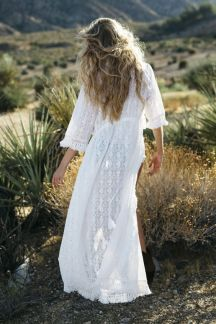ROBE LONGUE BLANCHE BRODERIE ANGLAISE (3)