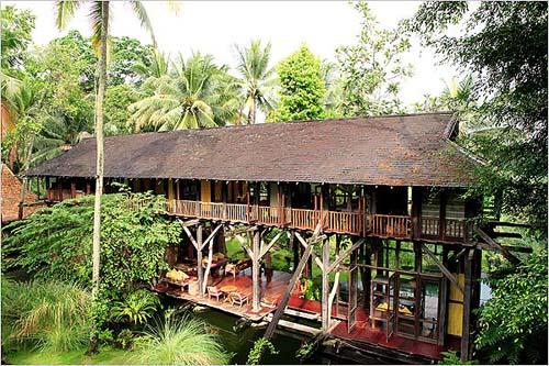 la maison de rêve de John Hardy - MOVING TAHITI