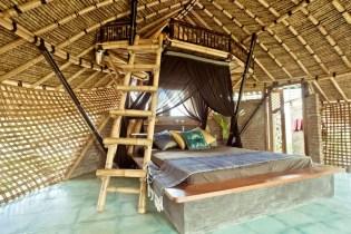 chalet écologique bambou rizières Ubud 02