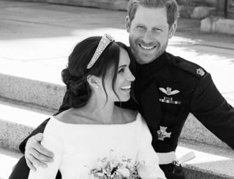Le prince Harry et Meghan Markle se sont dit «oui» : Découvrez les photos officielles des mariés !
