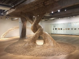 Les oeuvres en bambou de Tanabe Chikuunsai IV