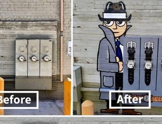 Street art : L'artiste Tom Bob envahit les rues avec sa créativité débordante