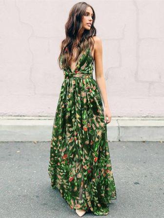 Belle en robe longue 13