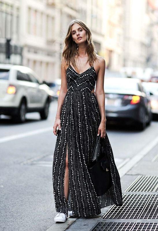 Belle en robe longue 14