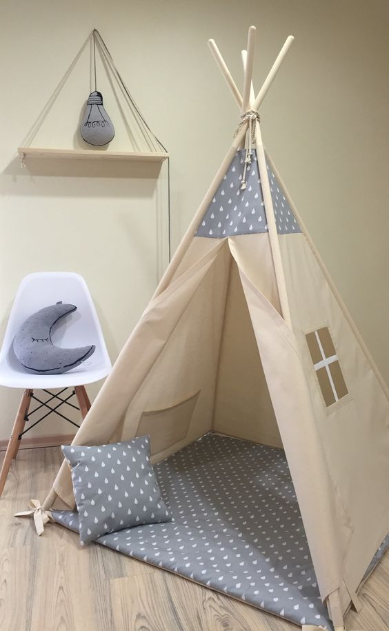 diy fabriquer un tipi pour enfants moving tahiti. Black Bedroom Furniture Sets. Home Design Ideas