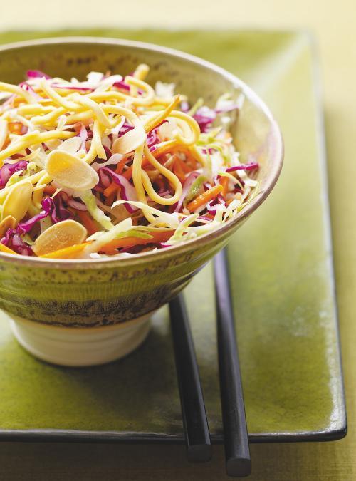 Salade croustillante asiatique au chou