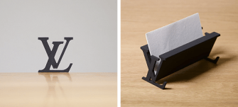 Taku Omura transforme les logos de marques en objets du quotidien