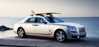 Surf : Rolls Royce créé une voiture spécialement pour les surfeurs