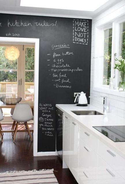 De la peinture ardoise dans la cuisine 04