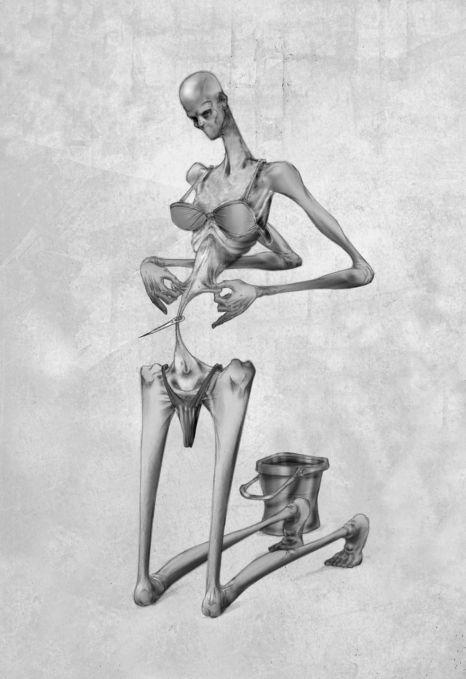 L'illustrateur Al Margen dessine l'envers du décor de notre société 04