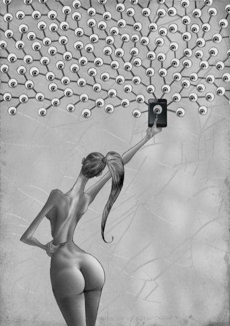 L'illustrateur Al Margen dessine l'envers du décor de notre société 09