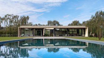 Rodríguez house,  une villa en béton en Argentine par Luciano Kruk