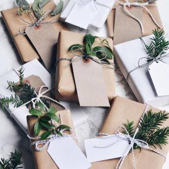 Les plus beaux paquets cadeaux de Noël en papier Craft