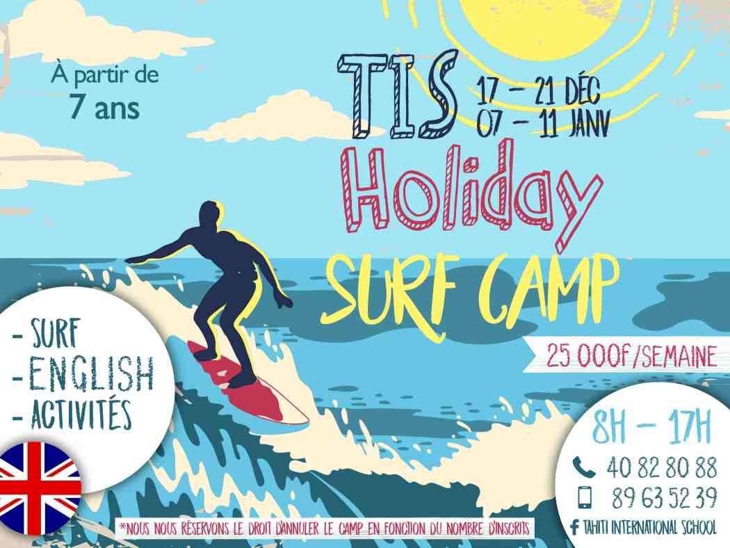 TIS Holiday Surf Camp – Une semaine bilingue de vacances et de surf
