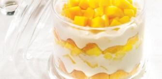 Le trifle à la mangue et au citron