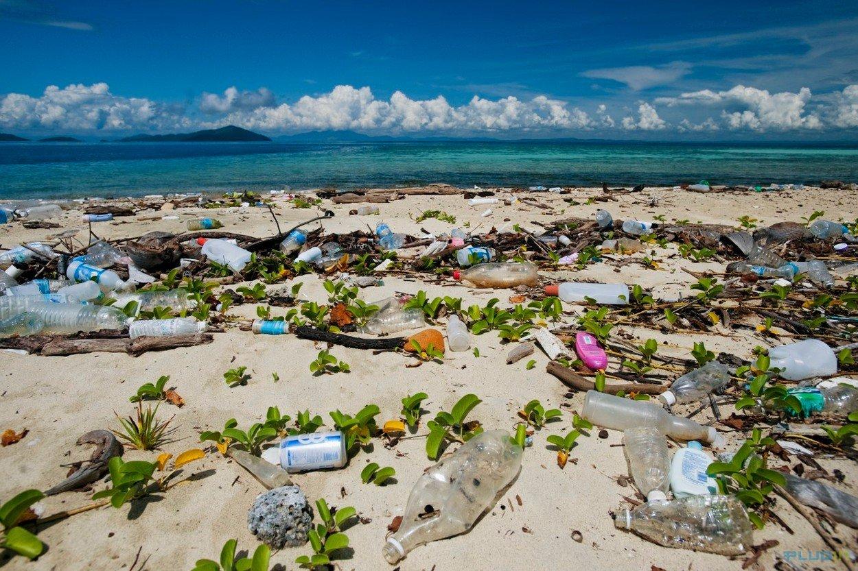 Plage Malaisie Polluee Moving Tahiti