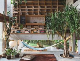 Patisandhika et Daniel Mitchell réalisent » Brutalist Tropical Home» à Bali