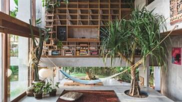 Brutalist Tropical House à Bali (7)