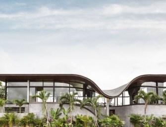 House O, maison au milieu des rizières en Indonésie par Alexis Dornier